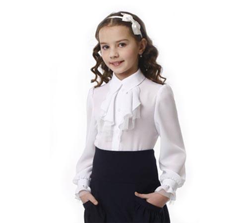 Блузка и юбка для девочек в школу