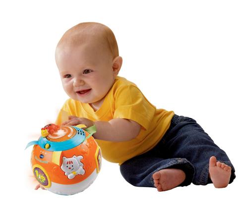 Музыкальный мячик для развития малыша