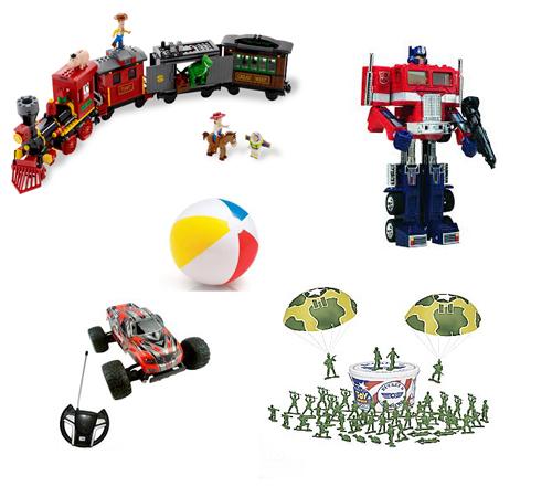 Наиболее популярные наборы игрушек для мальчиков