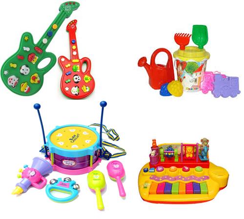 Простой набор обязательных игрушек для новорожденных малышей