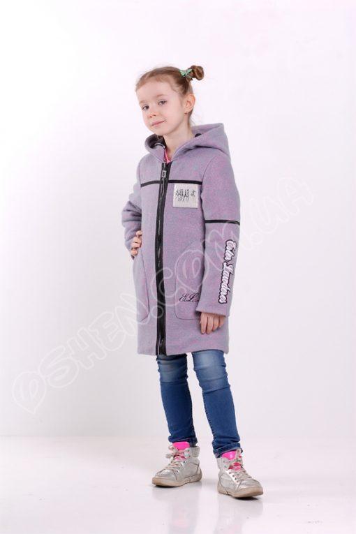 Демисезоннаое пальто для девочек эстер глициновый оптом от производителя
