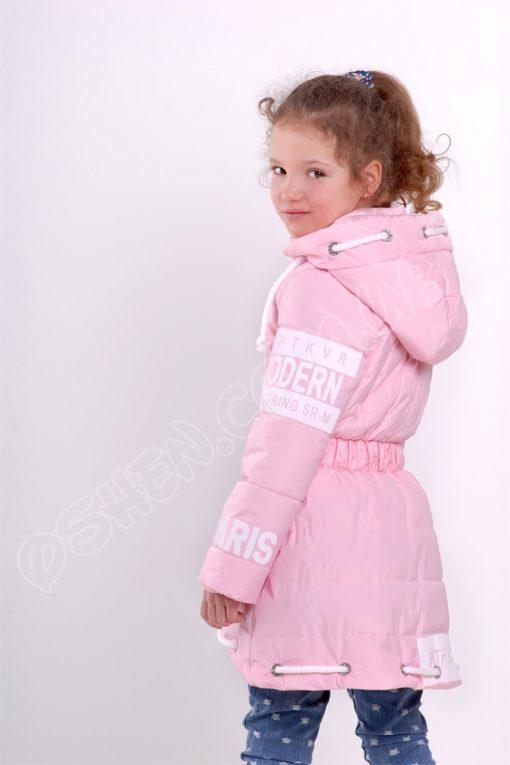 Демисезонная куртка для девочек модница светло розовый