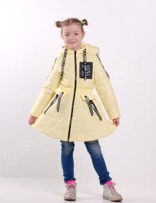 Демисезонная куртка для девочек олдсол лимонад