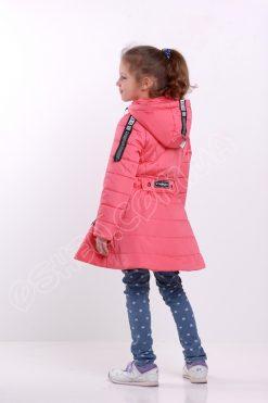 Демисезонная куртка для девочек олдсол розовый
