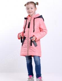 Демисезонная куртка для девочек парис розовый