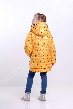 Демисезонная куртка для девочек р боби звезды оптом