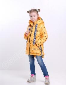 Демисезонная куртка для девочек р боби звезды