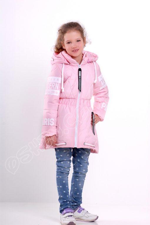 Демисезонная куртка для девочек светло розовый