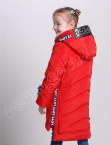 Детская зимняя куртка эмили пунцовый