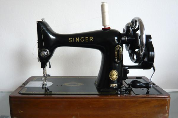история создания швейной машинки