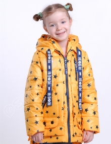 куртка для девочек р боби звезды