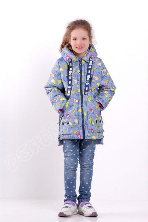 куртка для девочек р боби зонтики