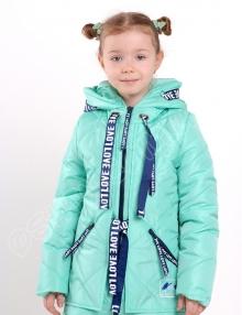 куртка для девочек эмили лазурный