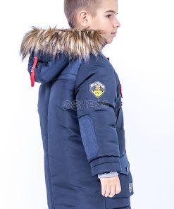 detskie zimnie kurtki dlya mal`chikov admiral sinij zad